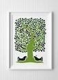 Fabl Hayat Ağacı Poster Renkli